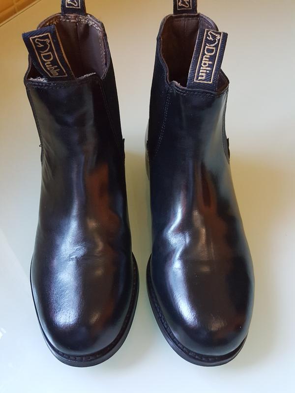Кожаные демисезонные ботинки челси dublin оригинал - Фото 4