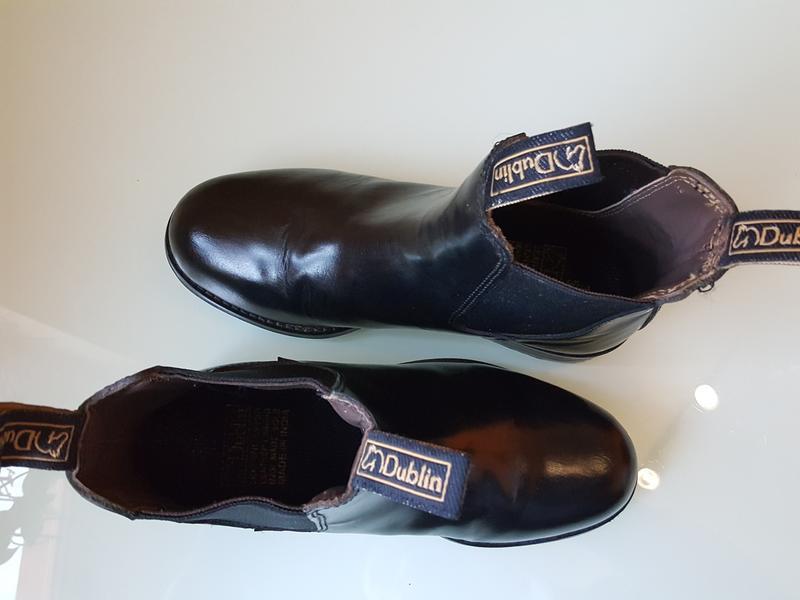 Кожаные демисезонные ботинки челси dublin оригинал - Фото 5