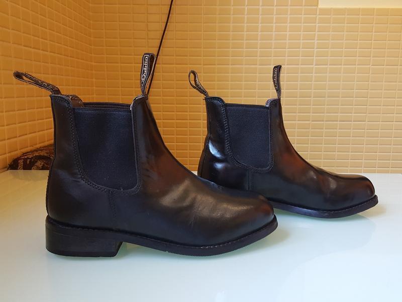 Кожаные демисезонные ботинки челси dublin оригинал - Фото 6