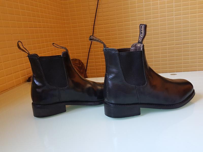 Кожаные демисезонные ботинки челси dublin оригинал - Фото 8