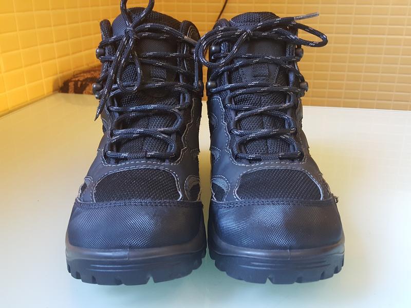 Горные фирменные ботинки ecco gore-tex original