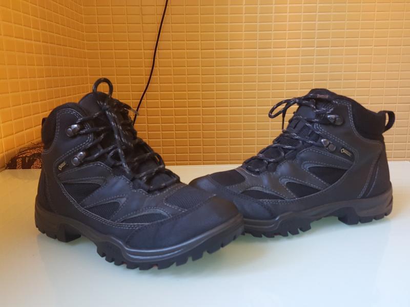 Горные фирменные ботинки ecco gore-tex original - Фото 2