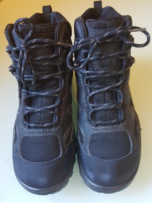 Горные фирменные ботинки ecco gore-tex original - Фото 4