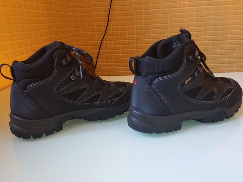 Горные фирменные ботинки ecco gore-tex original - Фото 5