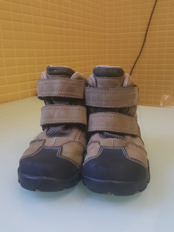Зимние детские ботинки richter  original