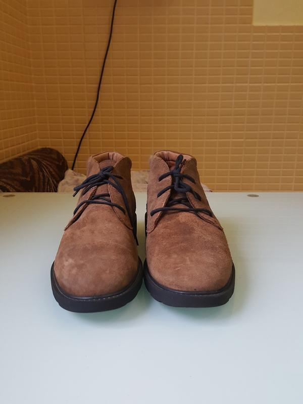 Стильные мужские ботинки geox - Фото 2