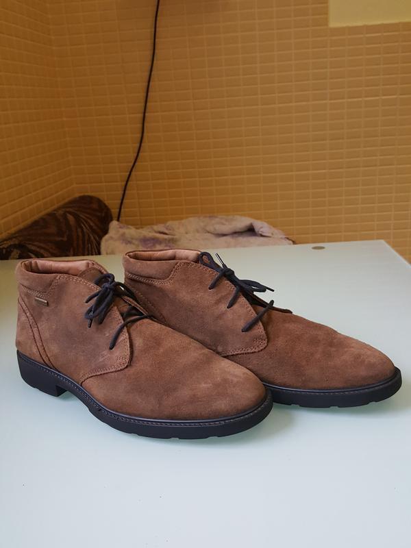 Стильные мужские ботинки geox - Фото 3