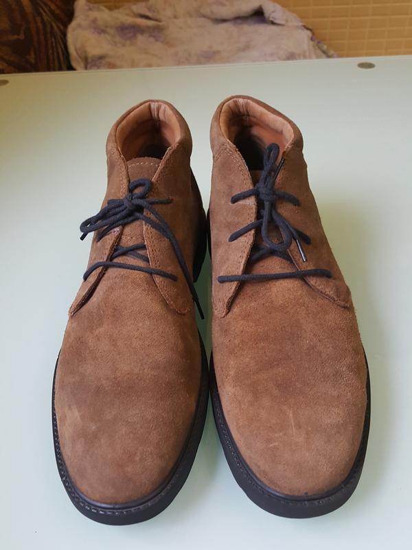 Стильные мужские ботинки geox - Фото 4