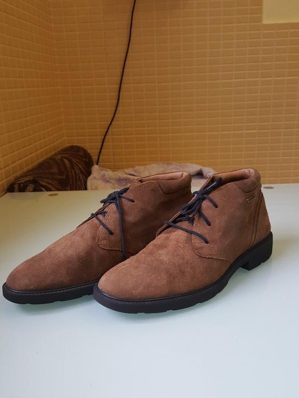 Стильные мужские ботинки geox - Фото 5