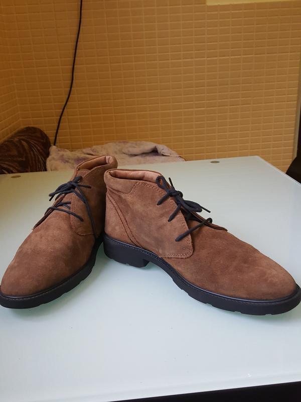 Стильные мужские ботинки geox - Фото 6