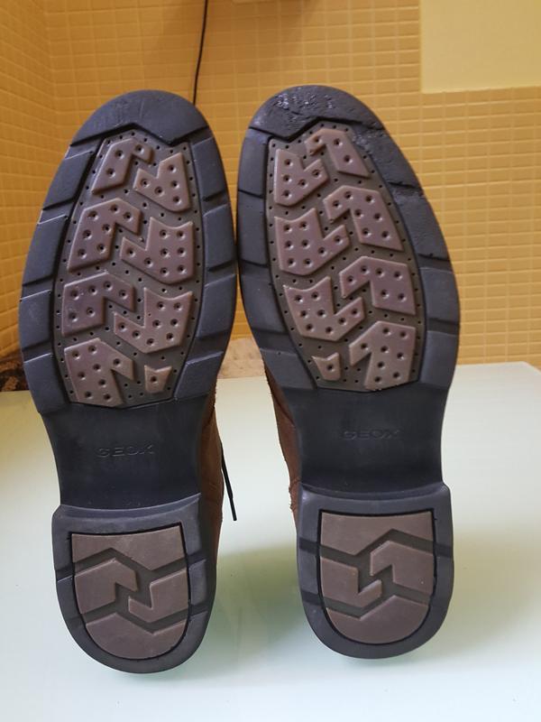 Стильные мужские ботинки geox - Фото 7