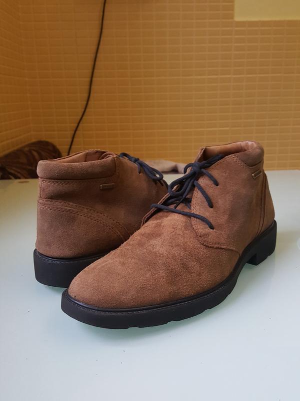 Стильные мужские ботинки geox - Фото 8