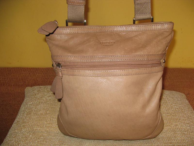Модная женская сумка osprey кожа