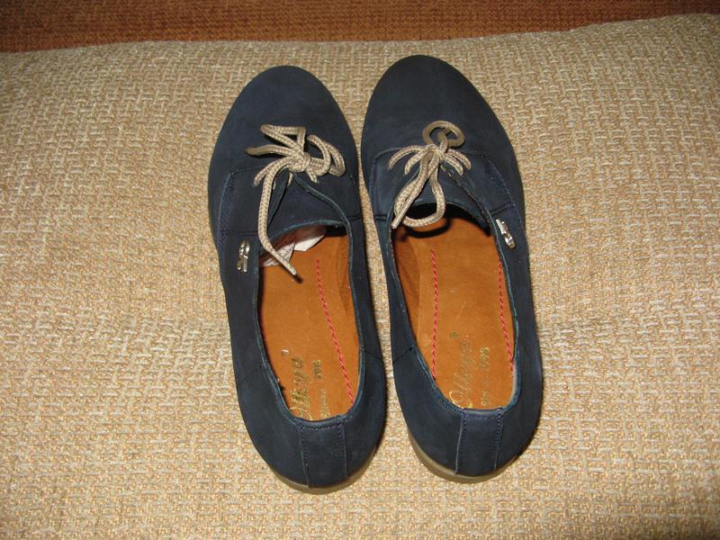 Модные женские туфли otteya кожа - Фото 2