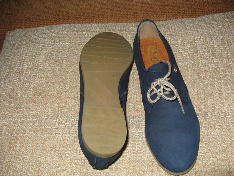 Модные женские туфли otteya кожа - Фото 3