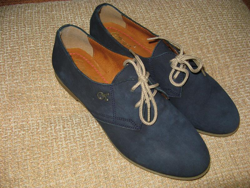Модные женские туфли otteya кожа - Фото 5