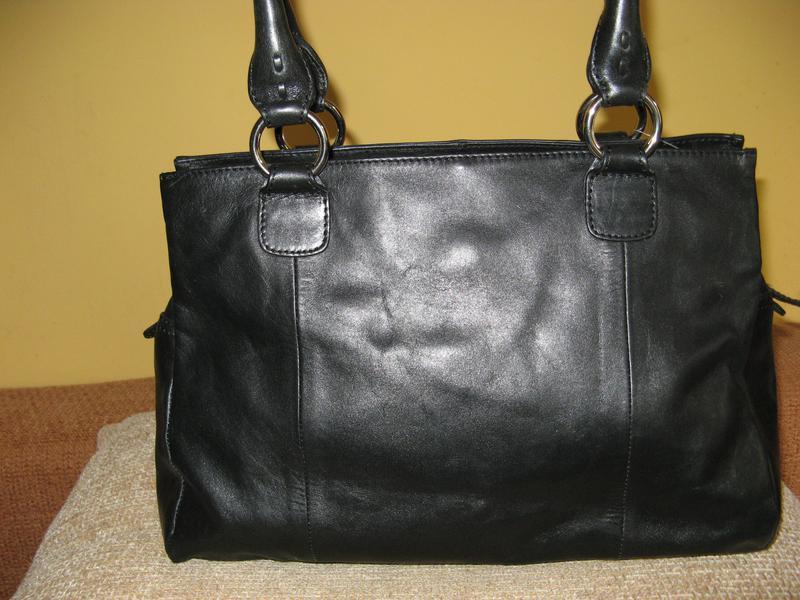 Стильная женская сумка m&s кожа - Фото 2