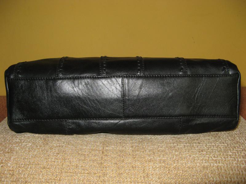 Стильная женская сумка m&s кожа - Фото 4