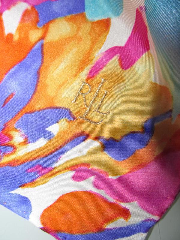 Женский шелковый платок - Фото 3