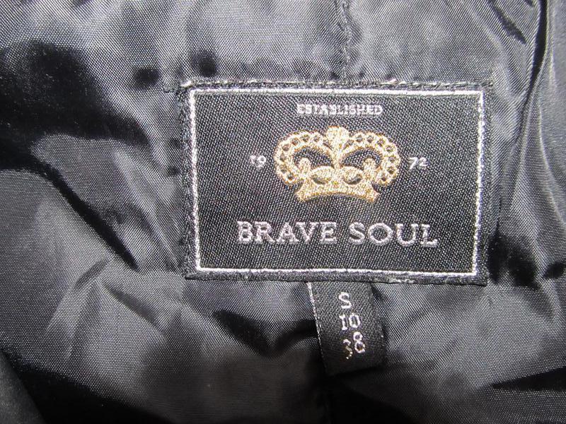 Стильная куртка brave soul - Фото 3