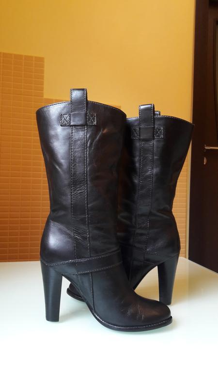 Легендарные кожаные сапоги ralph lauren - Фото 2