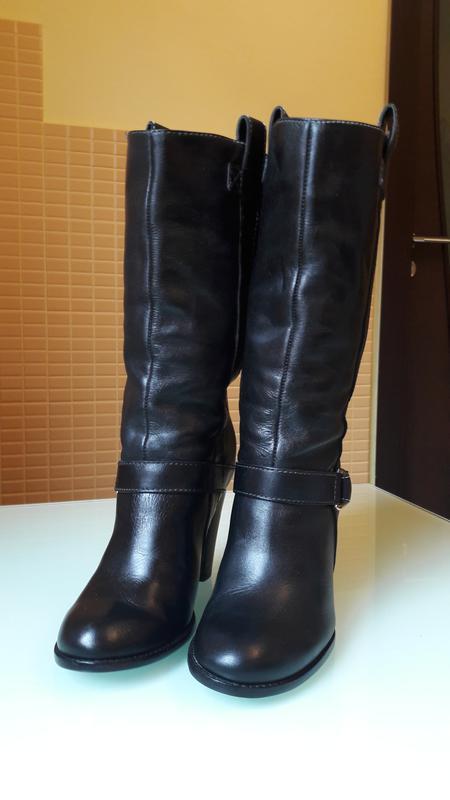 Легендарные кожаные сапоги ralph lauren - Фото 3