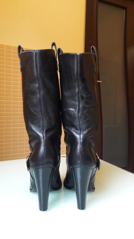 Легендарные кожаные сапоги ralph lauren - Фото 4