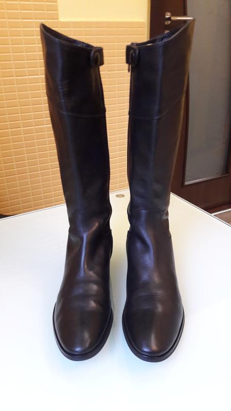 Актуальные кожаные сапоги pied a terre - Фото 2
