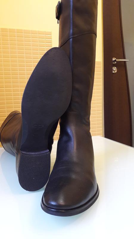 Актуальные кожаные сапоги pied a terre - Фото 5