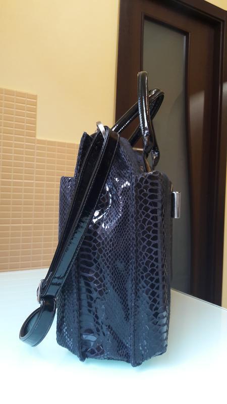 Стильная сумка из экокожи lydc - Фото 2