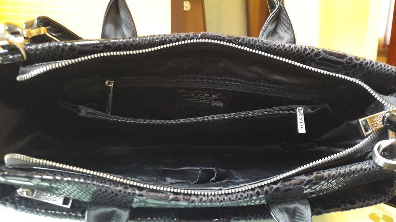 Стильная сумка из экокожи lydc - Фото 4
