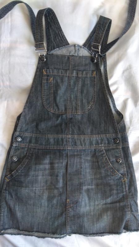 Суперский джинсовый сарафан sisley