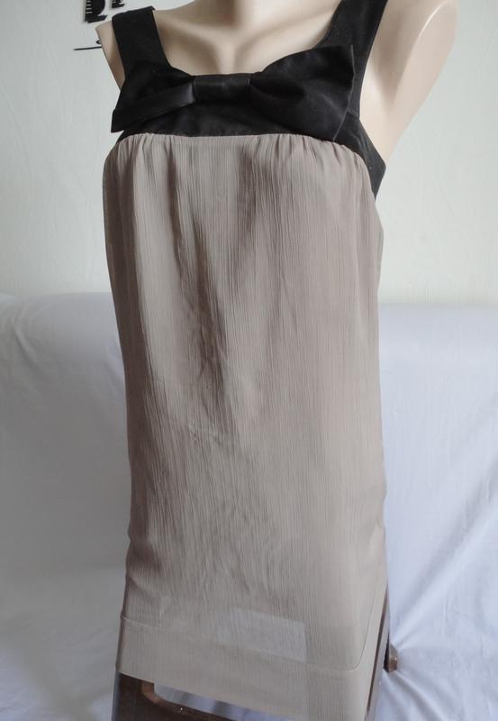 Шикарное шифоновое платье бренда  vero moda