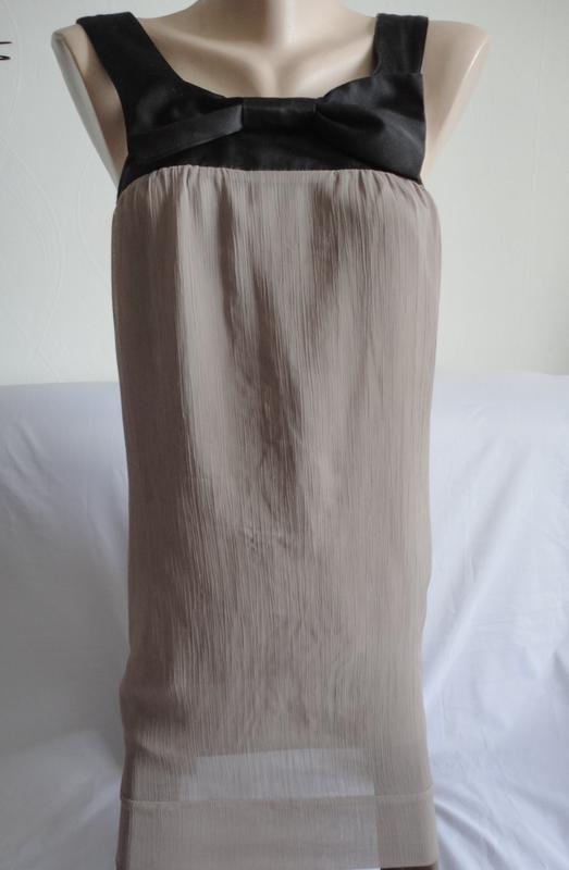Шикарное шифоновое платье бренда  vero moda - Фото 2
