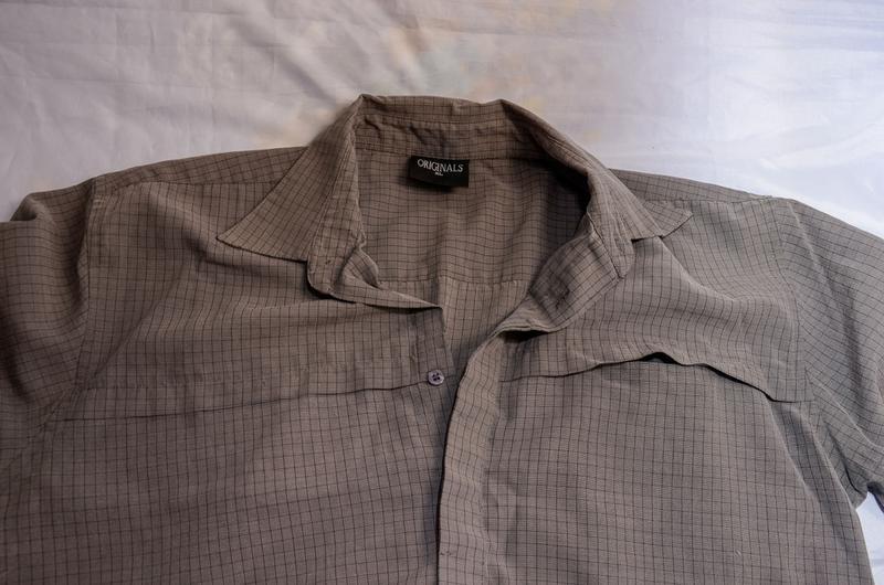 Мужская рубашка в мелкую клетку originals - Фото 3
