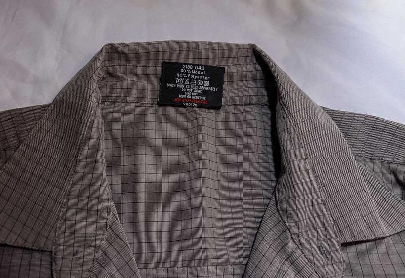 Мужская рубашка в мелкую клетку originals - Фото 4