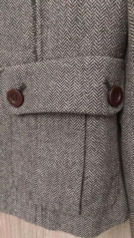 Модный крутой твидовый пиджак бренда kookai - Фото 3