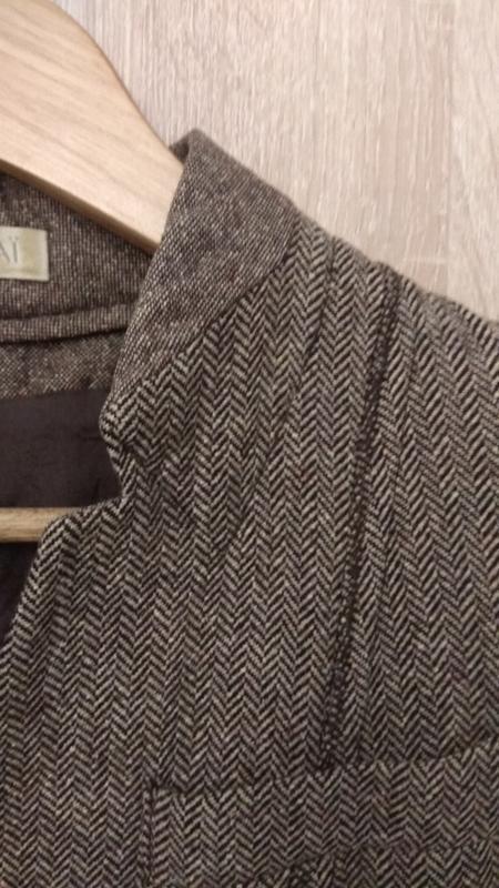 Модный крутой твидовый пиджак бренда kookai - Фото 4