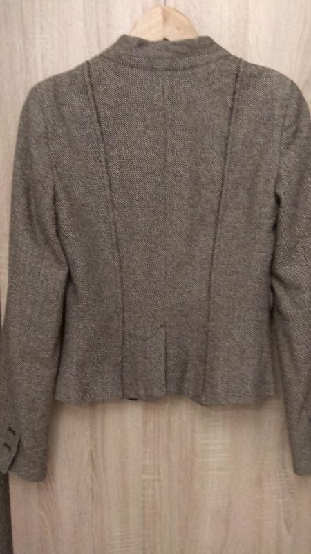 Модный крутой твидовый пиджак бренда kookai - Фото 5