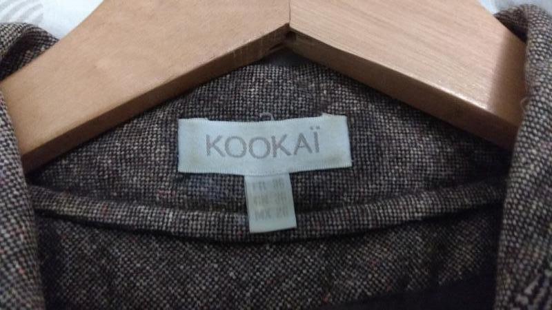 Модный крутой твидовый пиджак бренда kookai - Фото 7