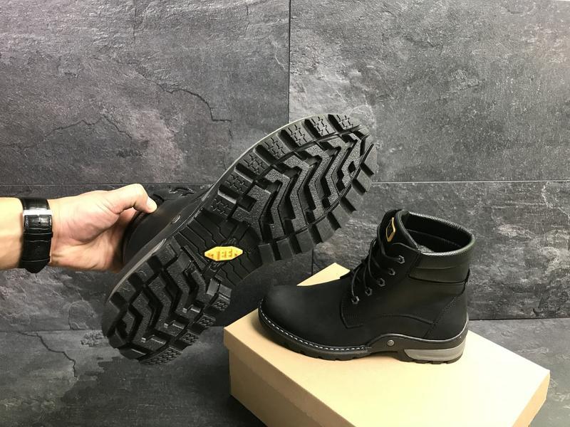 Мужские зимние ботинки, натуральная кожа, с 40 по 45 - Фото 2