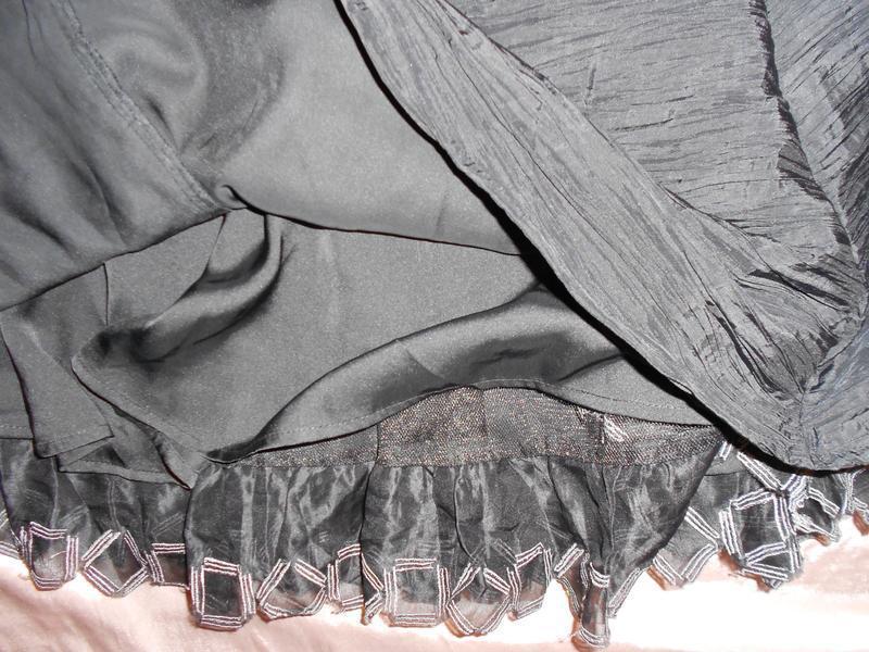 Уценка! teatro нарядное черное платье c пышной юбкой, р.38, s-m - Фото 4