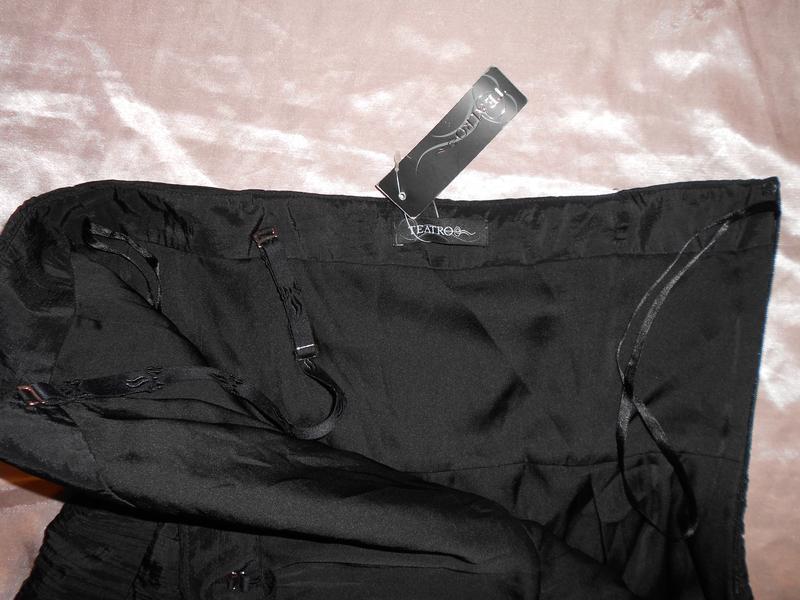 Уценка! teatro нарядное черное платье c пышной юбкой, р.38, s-m - Фото 5