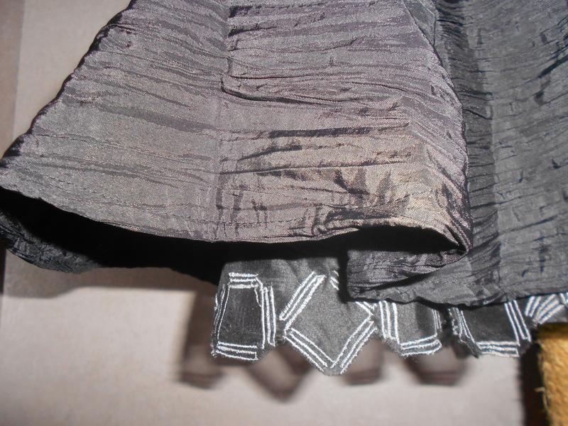 Уценка! teatro нарядное черное платье c пышной юбкой, р.38, s-m - Фото 7
