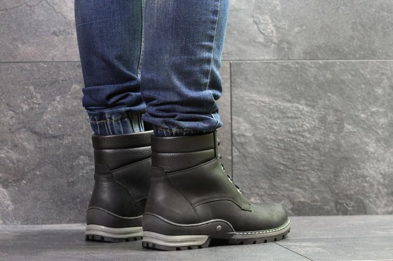 Мужские зимние ботинки, натуральная кожа, с 40 по 45 - Фото 5