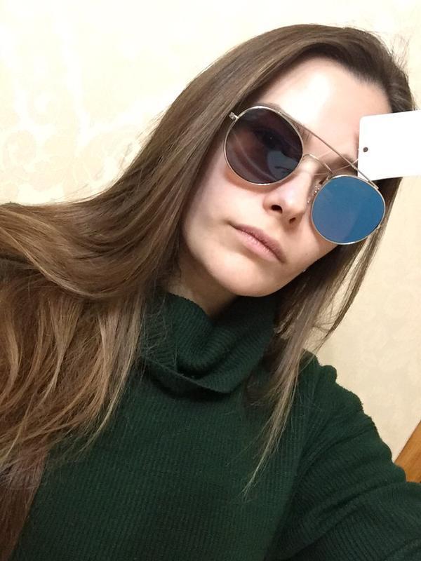 Не zara солнцезащитные очки mango солнечные очки зеркальные 2018 - Фото 4