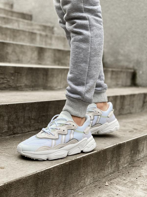 Новинка мужские и женские кроссвоки adidas ozweego ee7009 - Фото 2
