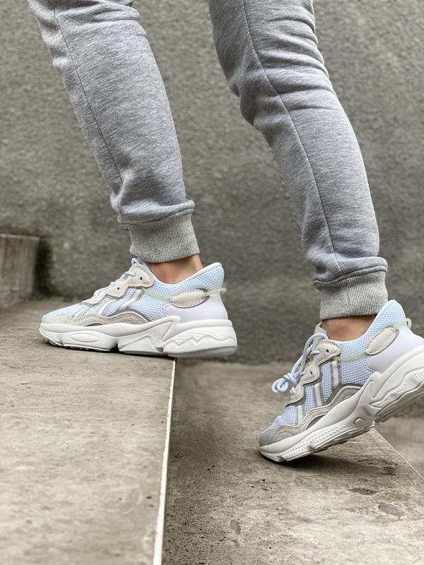 Новинка мужские и женские кроссвоки adidas ozweego ee7009 - Фото 3