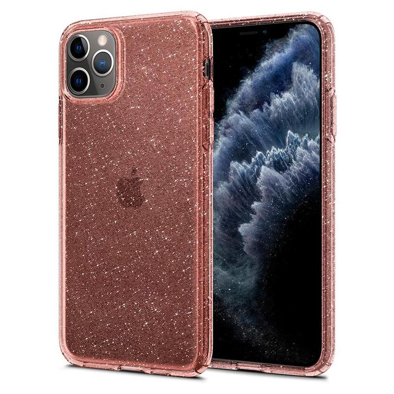 Чехол Spigen Liquid Crystal Glitter для iPhone 11 Pro Rose Quartz