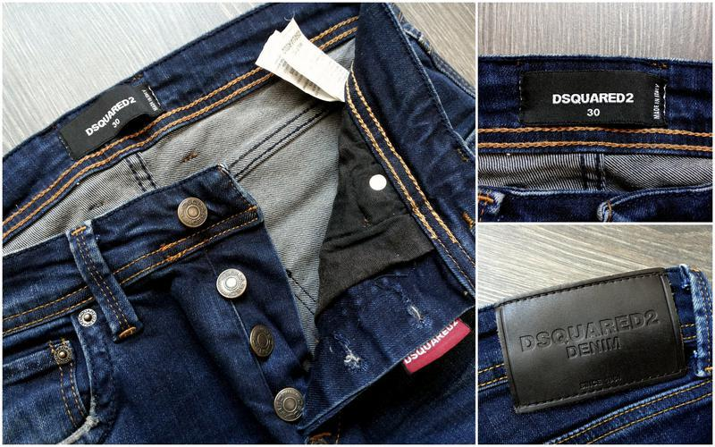 Джинсы dsquared2 made in italy - Фото 4